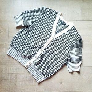 St. John Sport by Marie Gray Short Sleeve Sweater